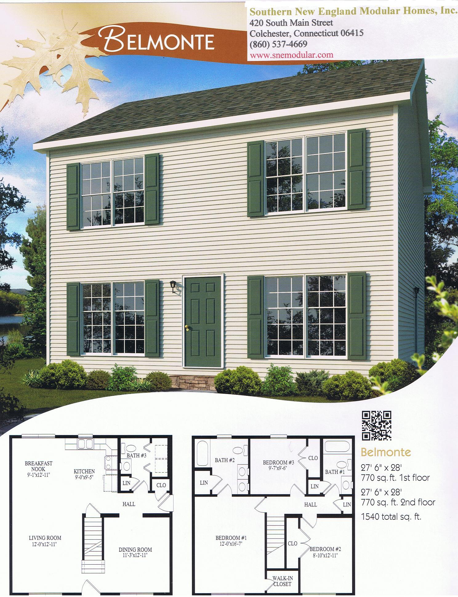 Colonial modular home floor plans gurus floor for Belmonte builders floor plans